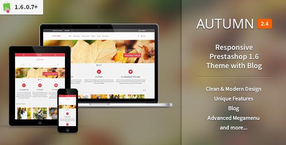 Autumn - Responsive Prestashop 1.6 Theme with Blog Abel Layton