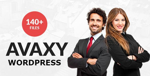 Avaxy - WordPress Multipurpose Theme WordPress Hughie Ewart