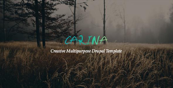 Carina - Creative Multipurpose Drupal 8 Template Humphrey Rafe