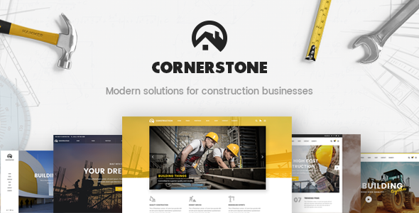 Cornerstone - A Professional Construction, Builder & Contractor Theme Jared Cleve