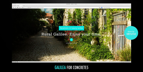 Galilea–Small Hotel Theme For C5 + RTL Version Garry Pacey