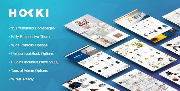 HOKI - Multi-Purpose Responsive WordPress & WooCommerce Theme Andy Akira