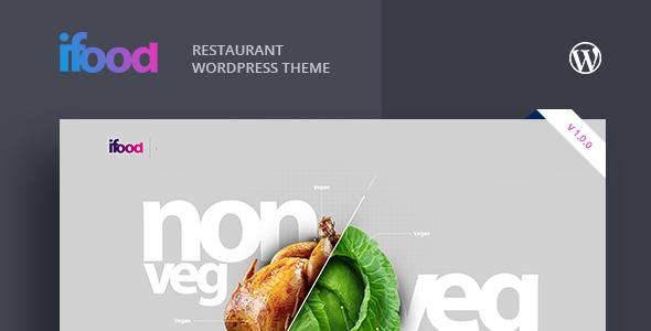 Ifoods-Restaurant And Food WordPress Theme Thomas Dex