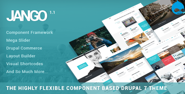 Jango | Highly Flexible Component Based Drupal Theme Herman Athelstan