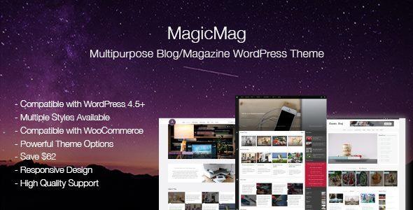 MagicMag - Multipurpose Blog/Magazine WordPress Theme Camden Bristol