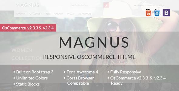 Magnus - Responsive osCommerce Theme osCommerce Meade Winfred