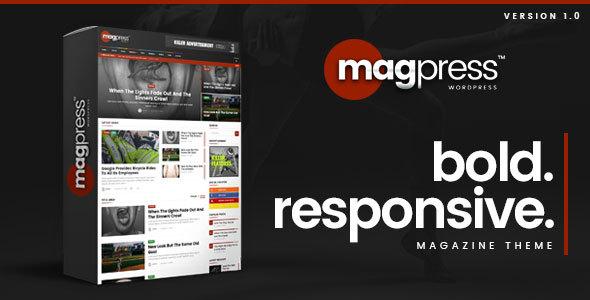 Magpress - Bold News & Magazine WordPress Theme Antiman Durward