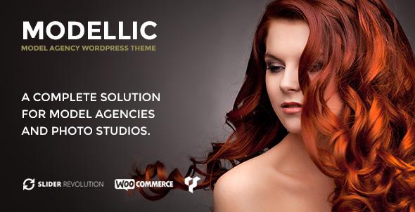 Modellic - WooCommerce & Booking Model Agency WordPress Theme Bernie Dene