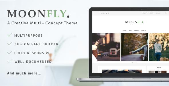 Moonfly - Multipurpose WordPress Theme WordPress Philip Ned