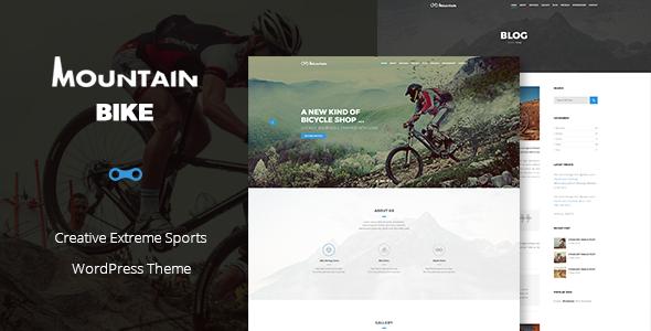 Mountain Bike - Creative Extreme Sports Theme Crispin Courtney