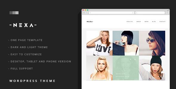 NEXA - Portfolio & Business sliding WordPress Theme Clay Kenton