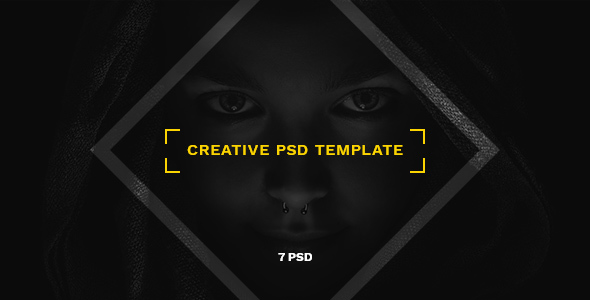 Nagual — Creative Personal/Agency Portfolio PSD Template Isamu Shannon