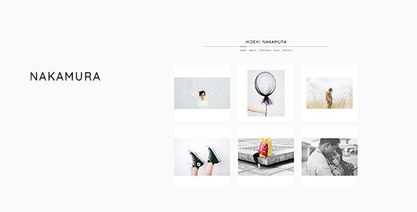 Nakamura - Minimal Photography and Portfolio WordPress Theme Jerrold Kenzie