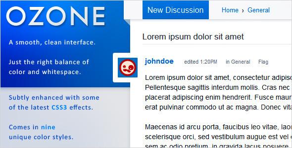 OZONE - Premium Vanilla 2 Theme Forums Keaton Prince