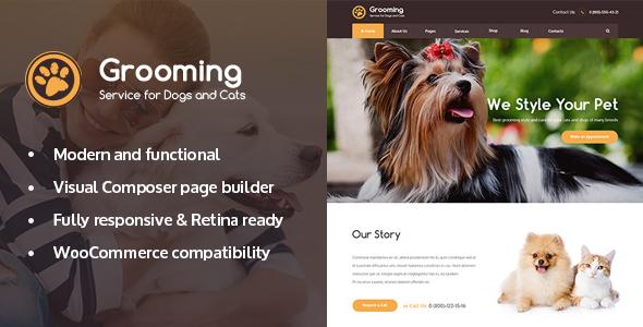 Pet Grooming / Pet Shop / Veterinary Theme Citlali Dawson