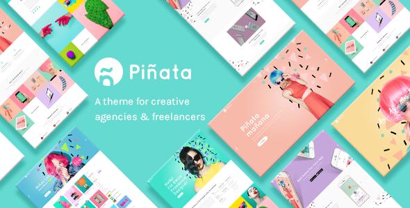 Piñata - A Fun, Vibrant Theme for Creative Agencies & Freelancers Moses Ozzie