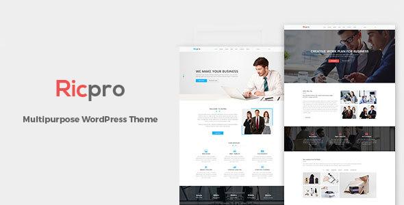 Ricpro - Multipurpose WordPress Theme WordPress Agus Iman