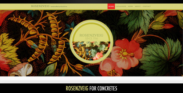 Rosenzveig–All Purpose Theme For Concrete5 Katsurou Tennyson