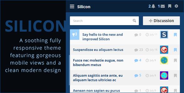 Silicon - Premium Vanilla 2 Theme Forums Jordan Jamey