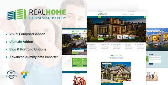 Single Property | Single & Multipurpose Property WordPress Theme Ken Dwain