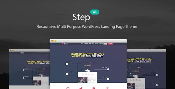Step - Startup WordPress Landing Page Theme Keaton Reilly