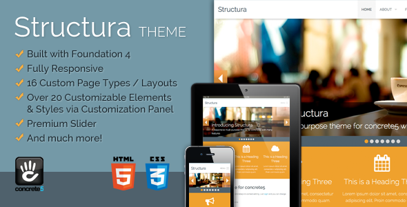 Structura Responsive Multi-Purpose Concrete5 Theme Jimmy Seth