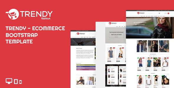 TRENDY FASHION - Ecommerce Bootstrap Template Odin Josh