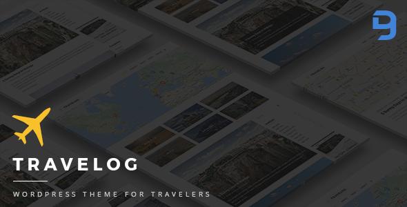 Travelog - WordPress Theme For Travelers Dwain Shelley