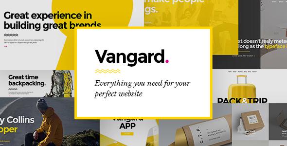 Vangard - A Theme for Freelancers and Agencies Chad Jiro