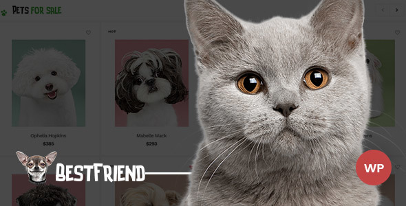 Bestfriend - Pet Shop WordPress WooCommerce Theme Katsu Schuyler