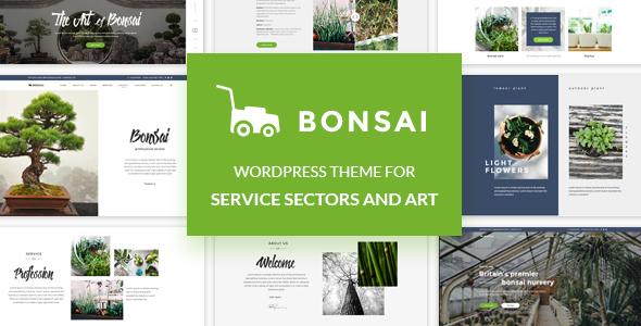 Bonsai - WordPress Theme for Service, Creative and Art Agency Lex Tyson