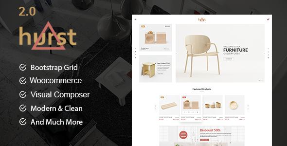 Hurst – WooCommerce WordPress Theme WordPress Weston Charlton