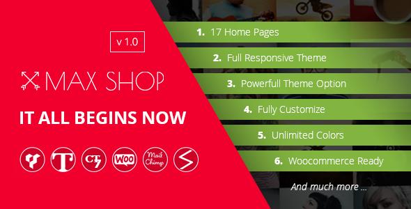 Maxshop   Multi-Purpose Responsive WooCommerce Theme Israel Clive