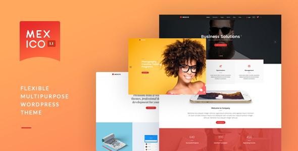 Mexico - Flexible Multipurpose WordPress Theme Forest Lacey