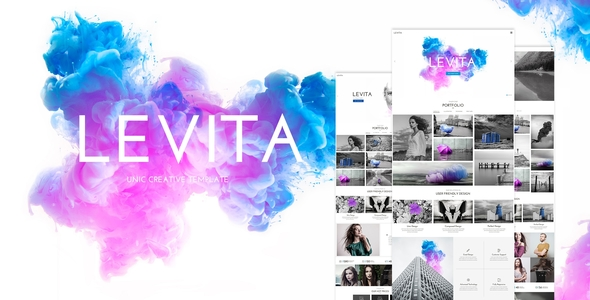 Photography Levita   Creative Photography Portfolio and Photography Blog WordPress Theme Ezra Putra