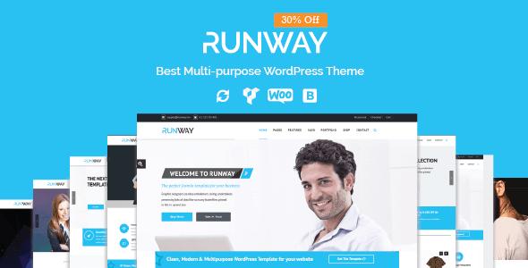 Runway - Responsive Multi-Purpose WordPress Theme Lex Driskoll