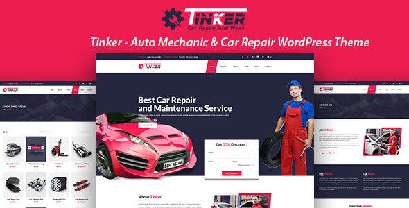 Tinker - Auto Mechanic & Car Repair WordPress Theme Talon Buddy