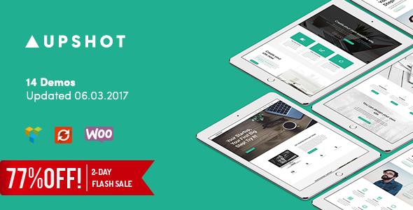 Upshot - Business Multi Purpose WordPress Theme Boyd Cletis
