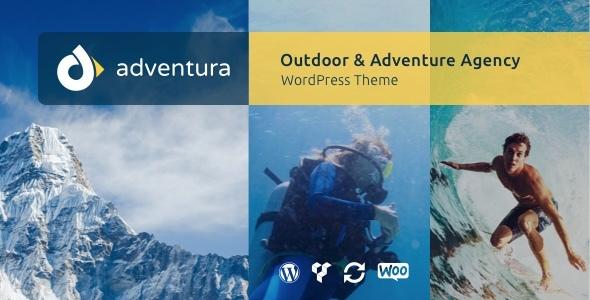 Adventura - Outdoor & Adventure Agency WordPress Theme Terry Leslie