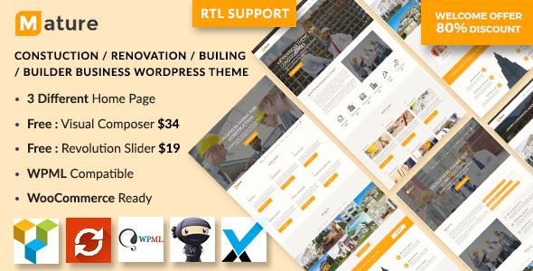 Construction – Construction And Building Business WordPress Theme Pépin Cuauhtémoc