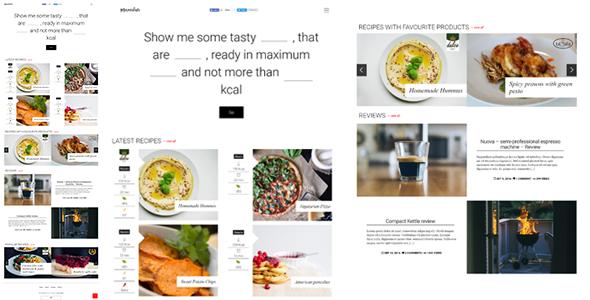 Marmalade - Modern Food Blog Theme WordPress Rain Nik