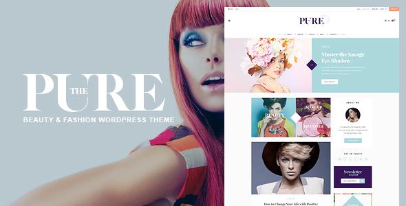Pure - Fashion and Lifestyle WordPress Theme for Blogging Merritt Aldous