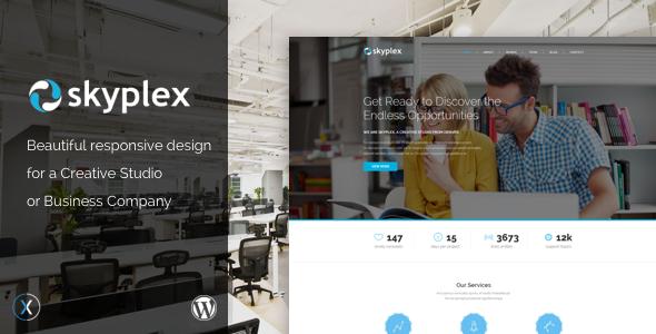 Skyplex WordPress - Creative Studio Theme Kyou Vance