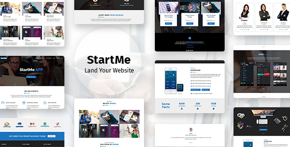 Startme - Landing pages for Mobile App, Products, Software, Hosting & Business Ronald Yoshi