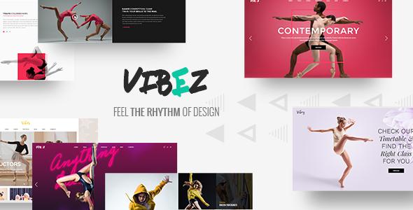 Vibez - A Dynamic Multi-concept Theme for Dance Studios and Instructors Justice Drogo