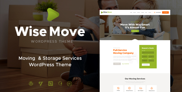 Wise Move   Moving and Storage Services WordPress Branson Sefton