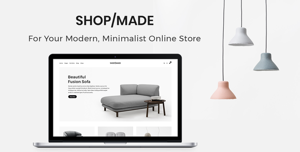Shop Made - A Modern, Minimalist eCommerce  Template            TFx Lacey Chandler