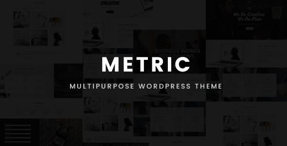 Metric – Multipurpose WordPress Theme            TFx Austin Saiwen