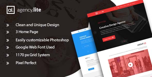 Agency Lite - Agency and Business Template            TFx Sonnie Mortimer