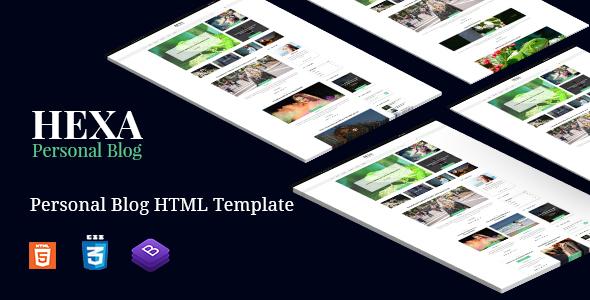 Hexa | Multipurpose Blog Site Bootstrap4 Template            TFx Aurangzeb Red